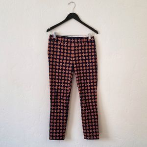 J. Crew Medallion Skinny Pants